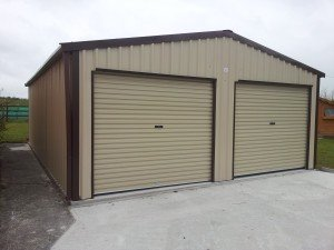 Double-Garage-with-2-Roll-up-Doors-300x225
