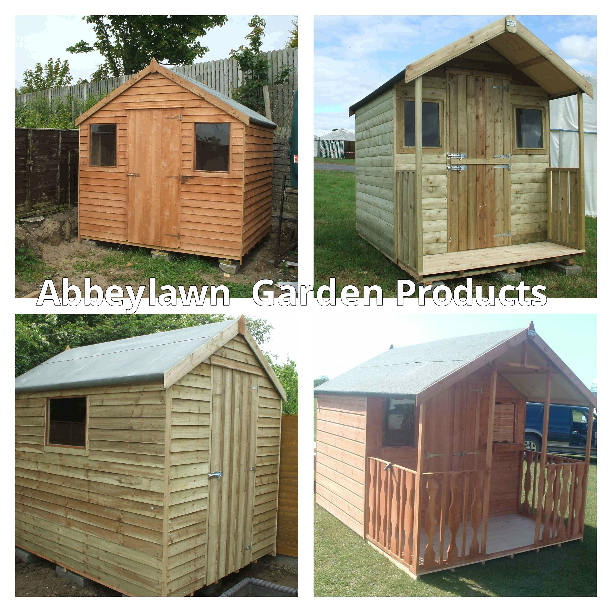 Timber garden sheds for sale