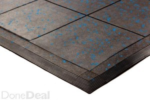 Soft Rubber 15 mm Dual Purpose Mats.