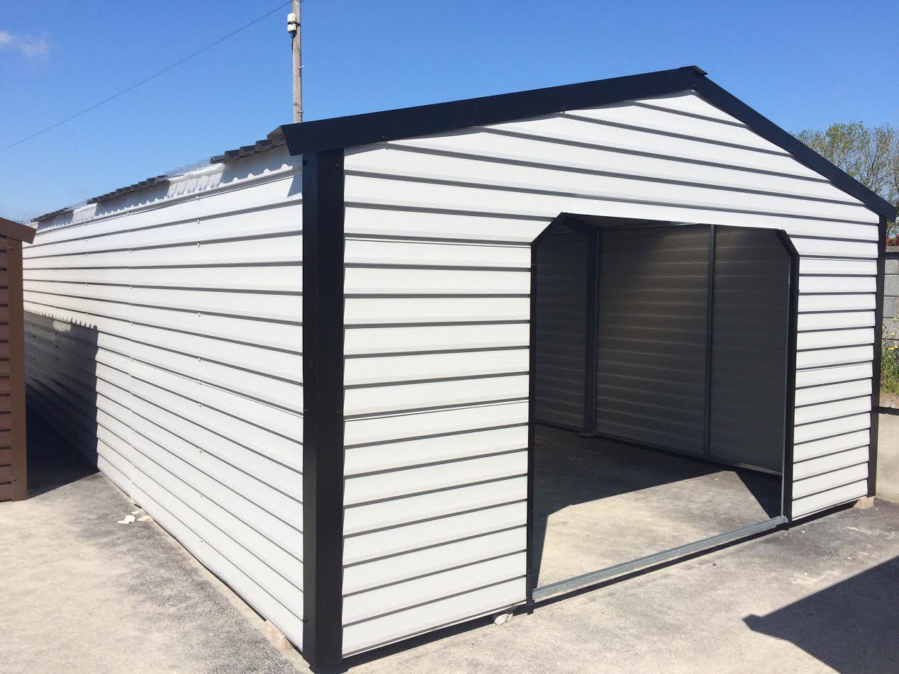 30x16 Steel Garage