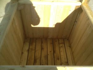 Large Planter Box inside