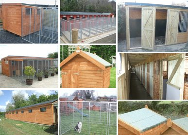 Dog Kennels & Cat Houses