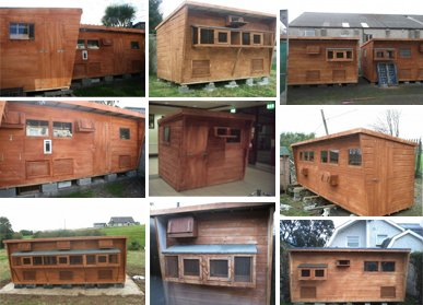 Pigeon Lofts & Hen Houses