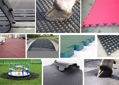 Rubber Cow Mats & Gym Mats