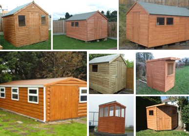 Timber & Steel Sheds