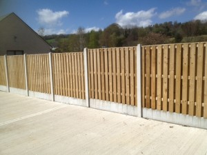Timber Panels & Garden Fencing for Sale, Wicklow - Picket