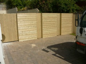 Weather-Board-Fencing-and-Gate-300x225