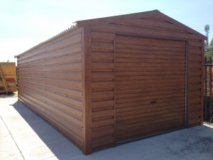 Wood Effect Steel Sheds For Sale In Ireland