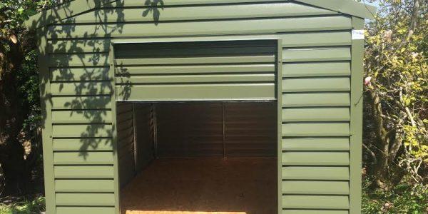 6x4 m steel garage