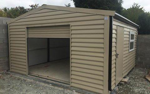 9x5 m steel Garage